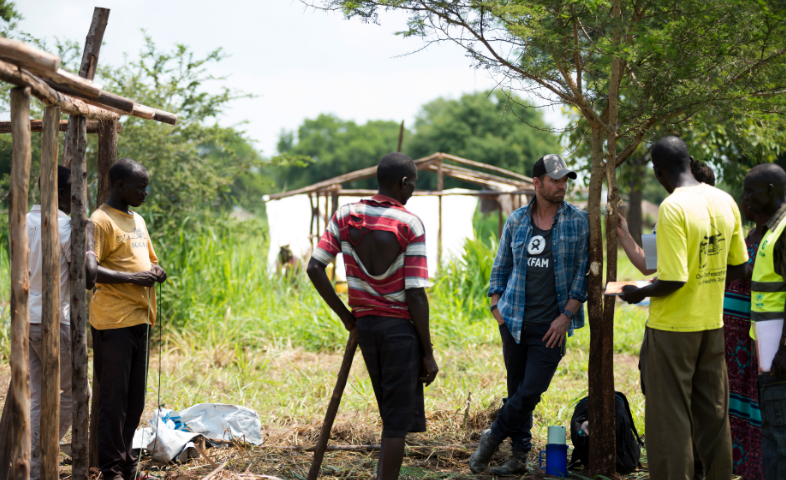 Interview: Daniel Gillies on his work with Oxfam in Uganda